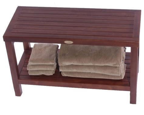 modern shower bench decoteak classic spa bench contemporary shower benches