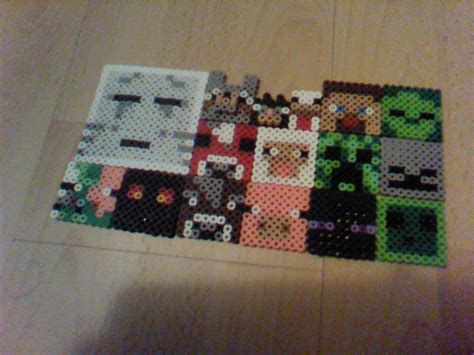 perler bead minecraft patterns minecraft perler bead crafts