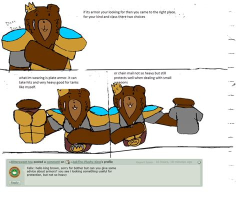 i have the following problem with the armour in starcraft question armor by askthe plushy king on deviantart