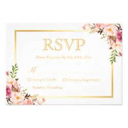 Wedding Rsvp Cards Template Free by Rsvp Cards Templates Zazzle