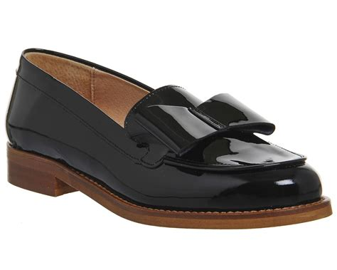 bow loafers office present bow loafers in black lyst