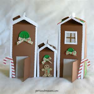 How To Decorate Your Home Cheap recycled carton gingerbread house 183 pint sized treasures