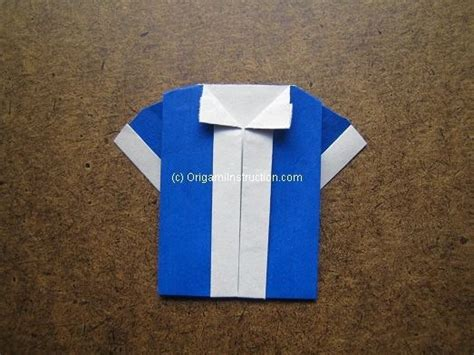 Easy Origami Shirt - origami origami dual color shirt