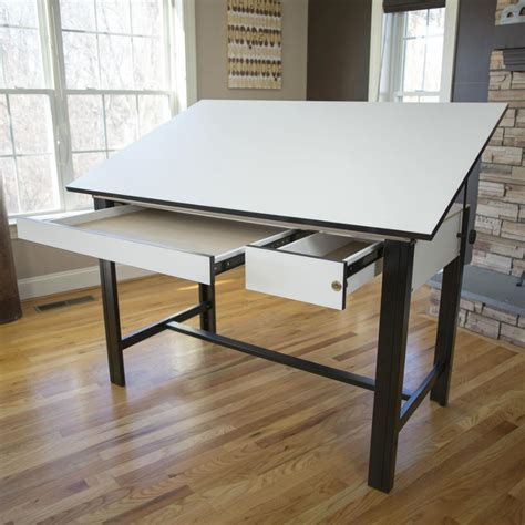 drafting table tools alvin 37 5 quot x 72 quot design master 4 post drafting table