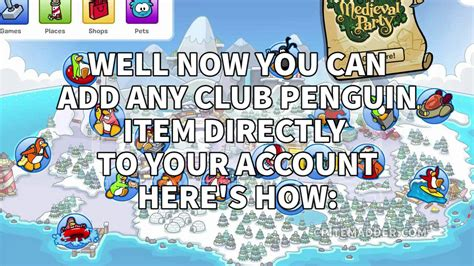 club penguin item adder 2015 video breakcom club penguin item adder 2015 working tool youtube