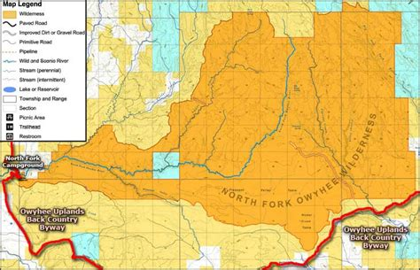 owyhee canyonlands map owyhee uplands gallery diagram writing sle and guide