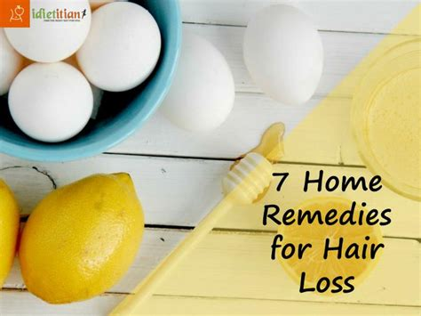 ppt 7 home remedies for hair loss powerpoint