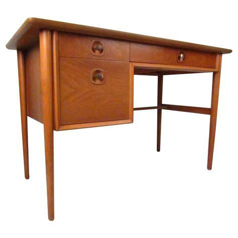 Morganton Furniture by Midcentury Walnut Copenart Desk By Morganton For Sale At