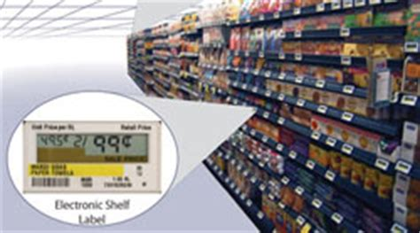 Grocery Store Shelf Labels by Researchers Predict Future Of Electronic Paper Devices