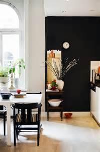 Black Kitchen Walls black kitchen accent wall