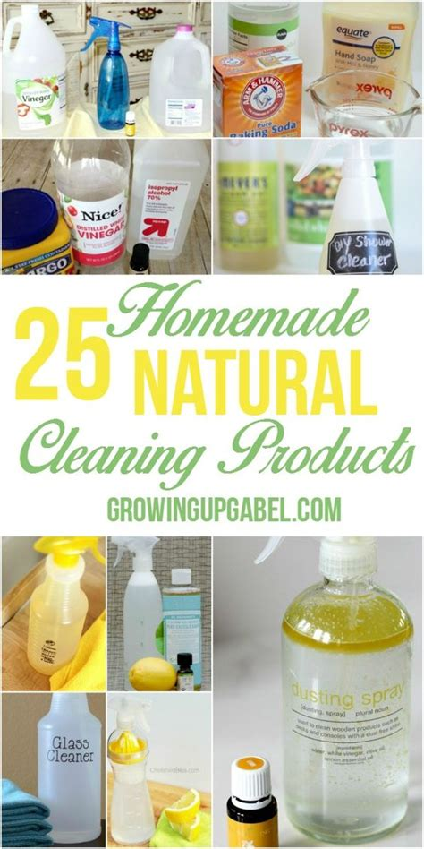 natural bathroom cleaner baking soda vinegar 25 homemade natural products for cleaning homemade