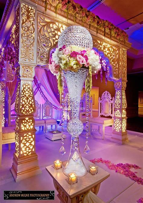 25  best ideas about Indian wedding stage on Pinterest