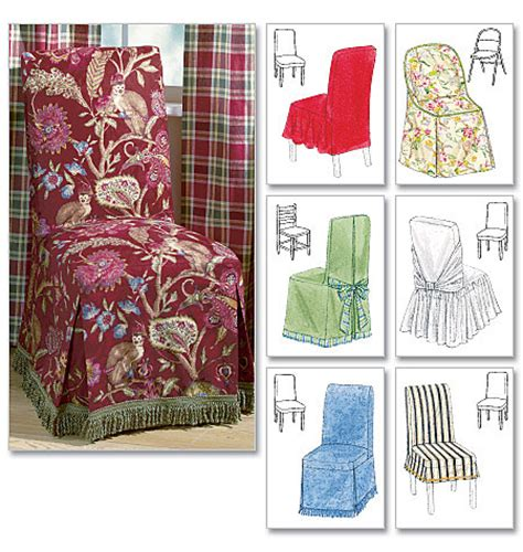 chair slipcover cover bow wedding dining sewing pattern ebay