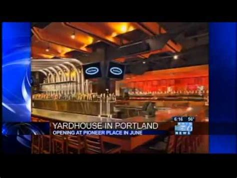 yard house portland oregon yard house 130 taps 200 jobs coming to portland youtube