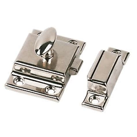 Wardrobe Latches by Cupboard Latch Nickel Plated 54mm Latches Catches