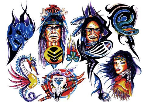 tattoo color png colored tattoo shape 026 mojo shapes
