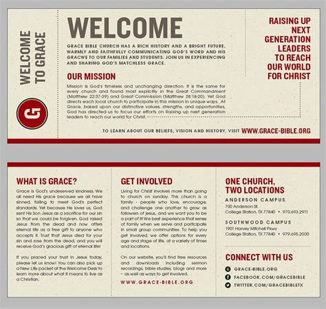 Church Bulletin Templates With Tear Out Visitor Card by 17 Best Images About Church Graphics On Youth