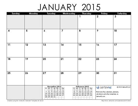 image gallery january 2015 calendar printable