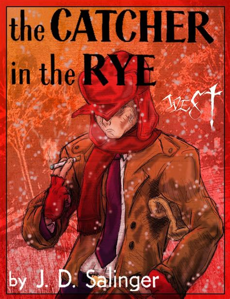 theme of falling in catcher in the rye holden caulfield description of phoebe wroc awski