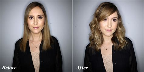 texture wave before and after texture wave before and after american wave perms