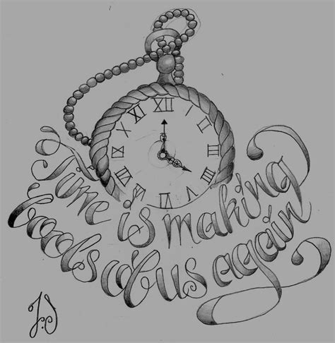 tattoo designs pocket watch pocket pencil drawing