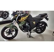 New Yamaha FZ S Fi Version 20 Military Green Edition 2015