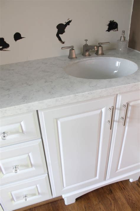 Vanity Installation Cost by Solid Surface Countertop