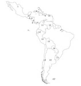 Spanish Speaking Countries Blank Map by Spanish Speaking Countries Worksheet Submited Images