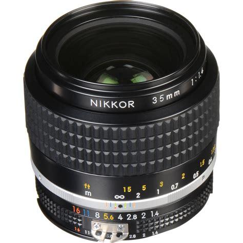 nikon nikkor 35mm f 1 4 lens 1429 b h photo