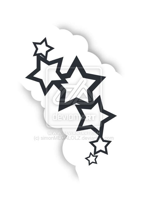 stars and cloud tattoo designs and clouds by simonmegalolz on deviantart