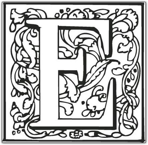 coloring pages of fancy alphabet letters free coloring pages of fancy letter l