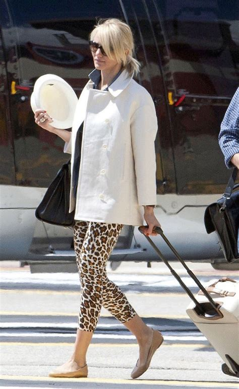 Get Leopard Print Flats Like Cameron And Reese by Airport Fashion From The 60 S To Today