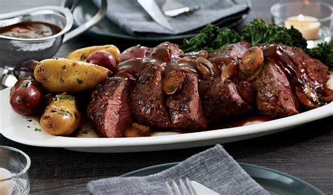chateaubriand for two with smoky scotch sauce recipe