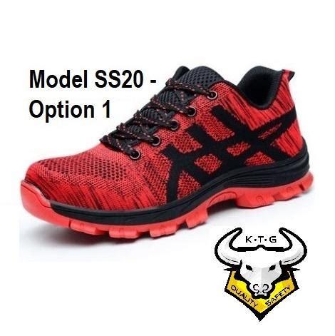 v sport safety shoes steel toe sports safety work shoes model ss20 option 1