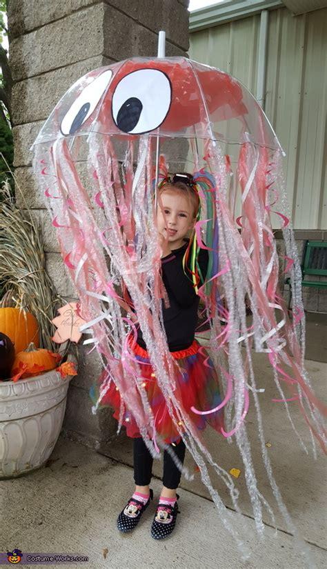 iridescent jellyfish diy costume diy costumes