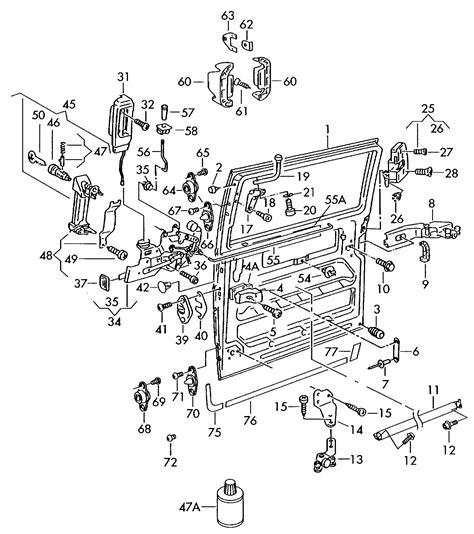 car service manuals pdf 2000 volkswagen eurovan electronic throttle control sliding door parts eurovan sliding door parts