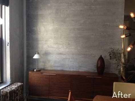 it s not a real concrete wall couleurblind how to paint a faux concrete wall that looks like the real