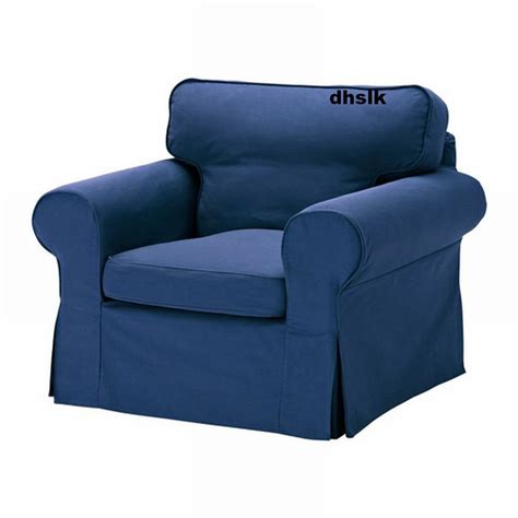 slipcovers for ikea chairs ikea ektorp armchair cover chair slipcover idemo blue
