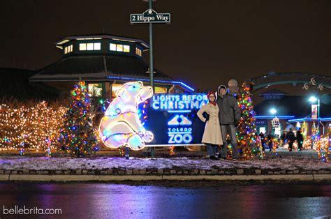 Celebrating Christmas In Ohio 2014 Belle Brita The Toledo Zoo Lights Before