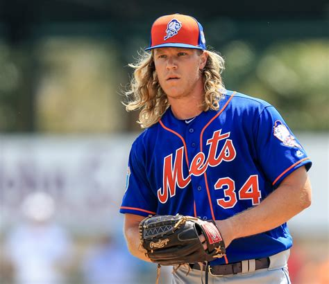 noah syndergaard modeling super pitcher how noah syndergaard transforms into thor