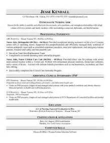 nursing assistant resume template resume exles no experience related to certified