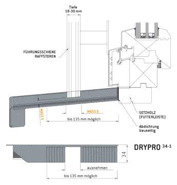 außenfensterbank alu drypro drypro 34 1