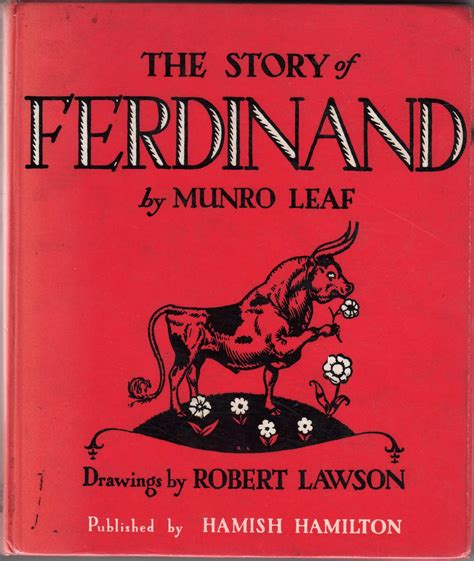the story of ferdinand the story of ferdinand read us a story