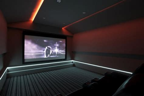 Living Room Theater Lighting Home Theatre Right In Your Renovated Home