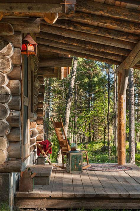 cabin porch whitefish montana private historic cabin remodel rustic