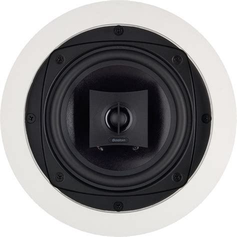 Boston Acoustics Ceiling Speakers by Boston Acoustics 6 Quot Designer In Ceiling Speaker Dsi255 B H