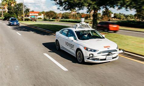 self driving jaguar land rover invests in self driving startup voyage