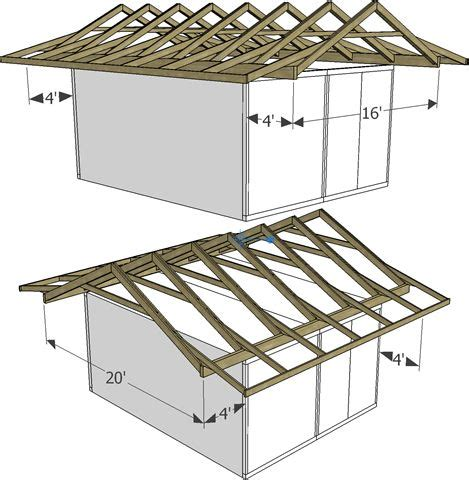 25 best ideas about roof truss design on roof
