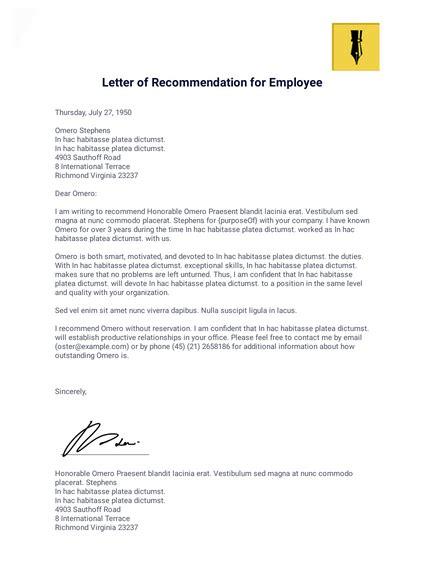 letter recommendation student templates jotform