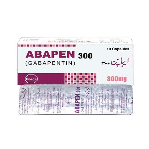 Anerocid 300mg abapen 300mg capsules bosch pharmaceuticals pvt ltd